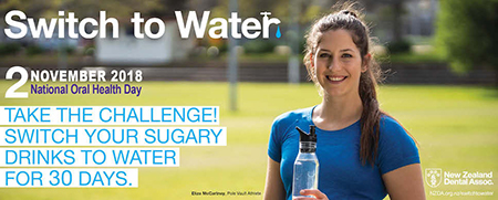 Switch to Water Challenge Banner